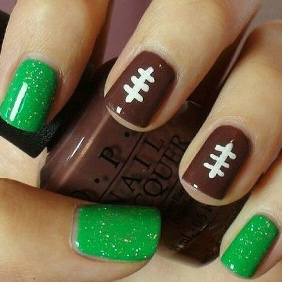 5 Super Bowl Nails Art Ideas - 3