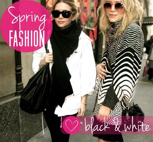 Spring Fashion Essentials: Black & White