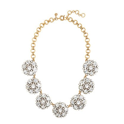 J.Crew Circular Petals Necklace