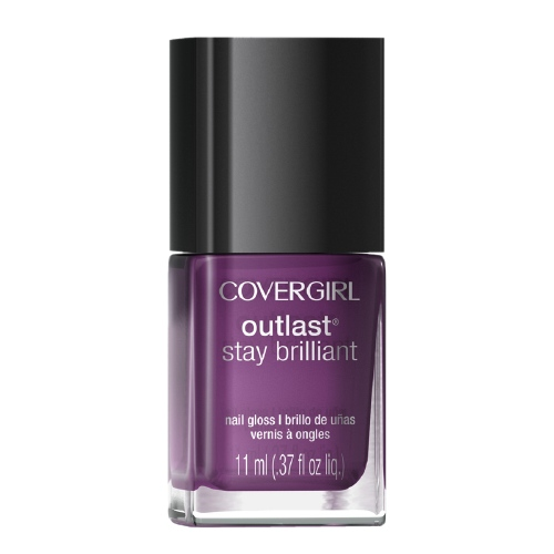 CoverGirl Outlast Stay Brilliant Nail Gloss in Grapevine