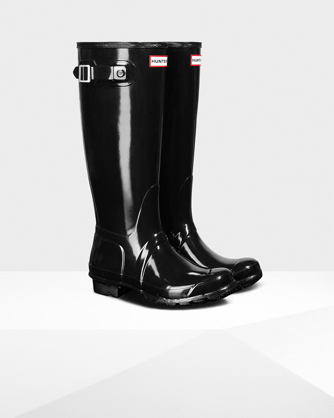 Hunter Original Tall Glass Rainboot