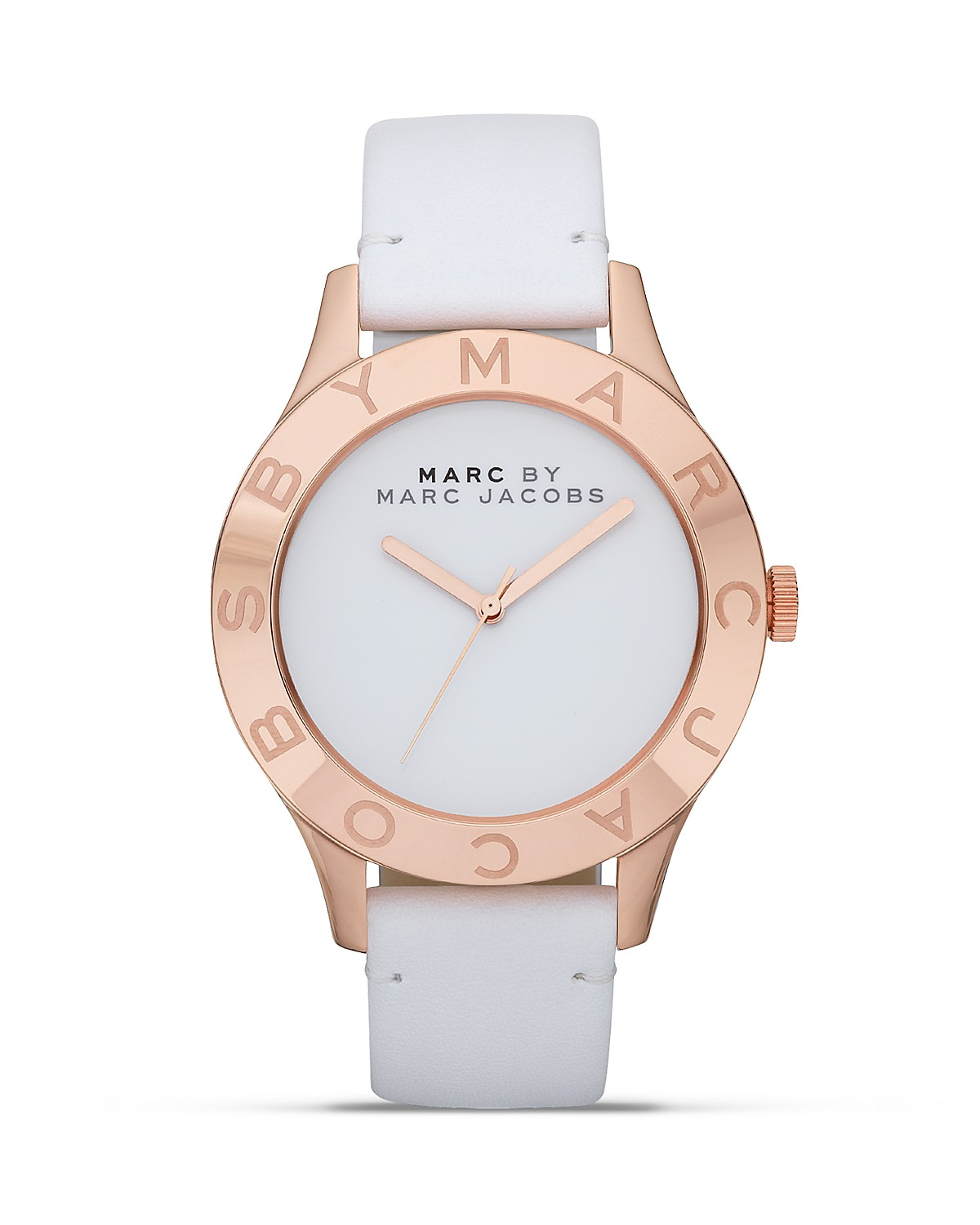 Marc by Marc Jacobs Blade Leather Strap Watch