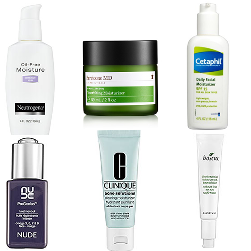 Top-6 Best Moisturizers for Acne Prone Skin
