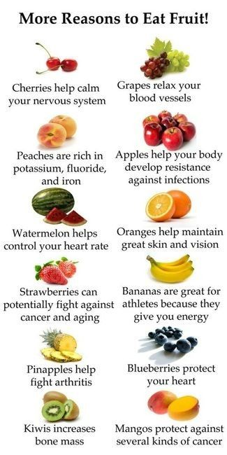 benefits to choosing the natural sweetness of fruits