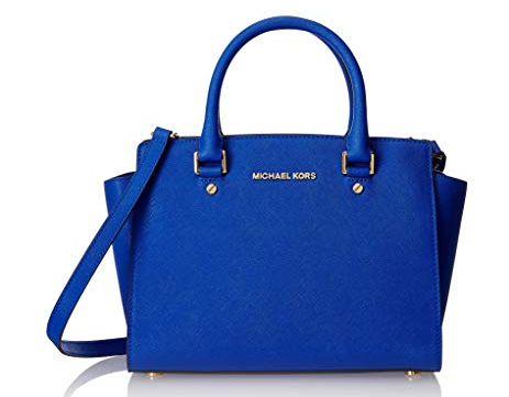 Michael Kors Selma Medium Satchel ELECTRIC BLUE