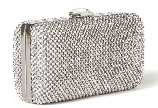 Rebecca Taylor dimple mesh box clutch