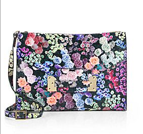 Sophie Hulme Floral-Printed Soft Envelope Convertible Clutch