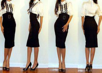 A Pencil/Body Con Skirt