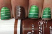 5 Super Bowl Nails Art Ideas