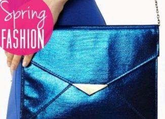Spring Fashion: Metallic Handbags